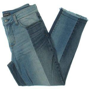 NYDJ Sheri Ankle two Toned Denim Jeans